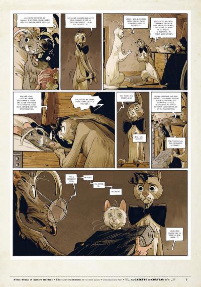 Page 4 Le château des animaux - gazette tome 3