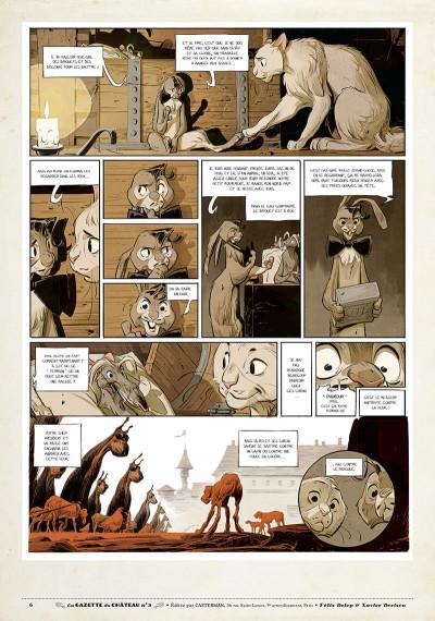 Page 5 Le château des animaux - gazette tome 3