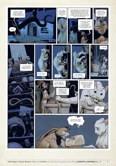Page 6 Le château des animaux - gazette tome 3