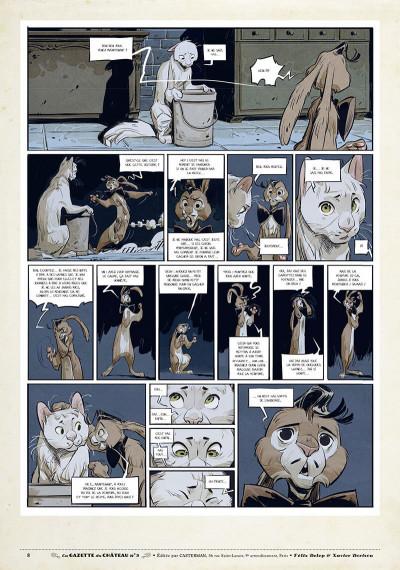 Page 7 Le château des animaux - gazette tome 3