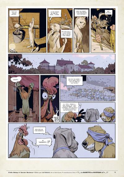 Page 8 Le château des animaux - gazette tome 3
