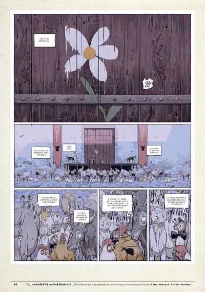 Page 9 Le château des animaux - gazette tome 3