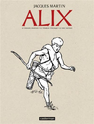 Couverture Alix - Recueil anniversaire n&b tome 1