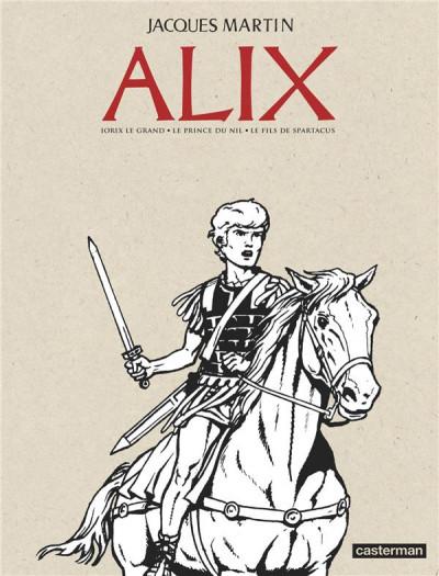 Couverture Alix - Recueil anniversaire n&b tome 2
