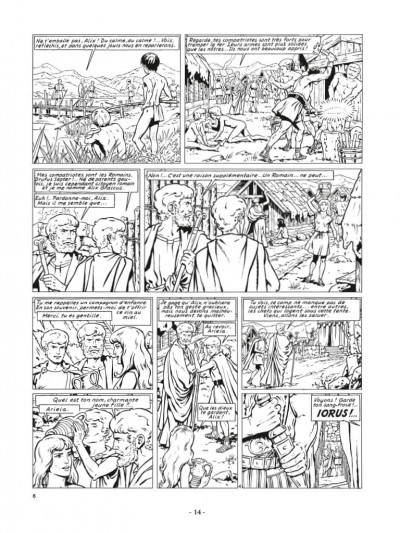 Page 4 Alix - Recueil anniversaire n&b tome 2