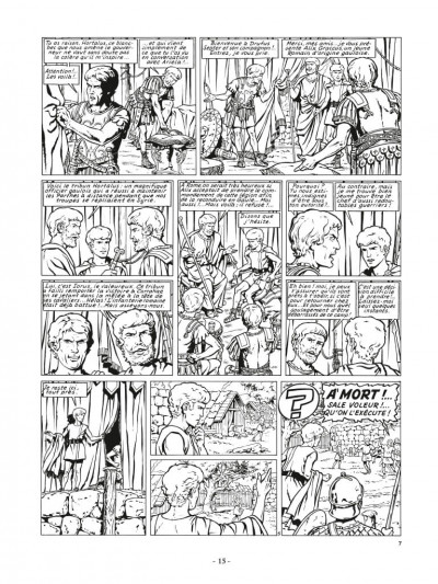 Page 5 Alix - Recueil anniversaire n&b tome 2