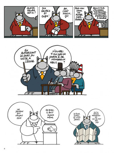Page 2 Le chat- best of tome 6