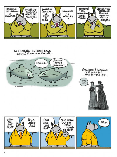 Page 4 Le chat- best of tome 6