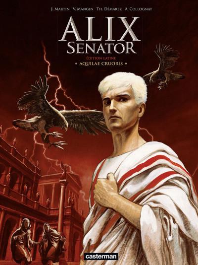Couverture Alix Senator en latin tome 1
