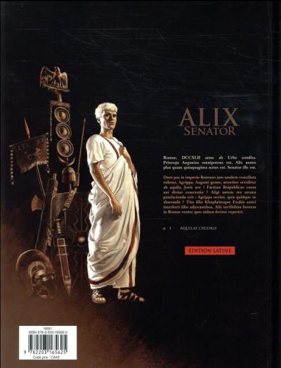 Dos Alix Senator en latin tome 1