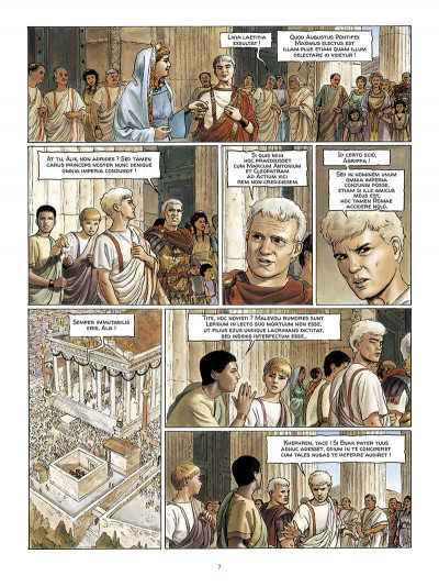 Page 8 Alix Senator en latin tome 1