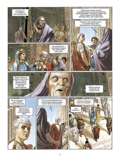 Page 9 Alix Senator en latin tome 1