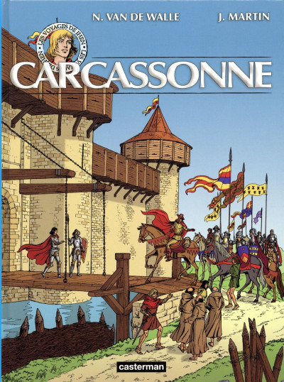 Couverture Les voyages de Jhen - Carcassonne