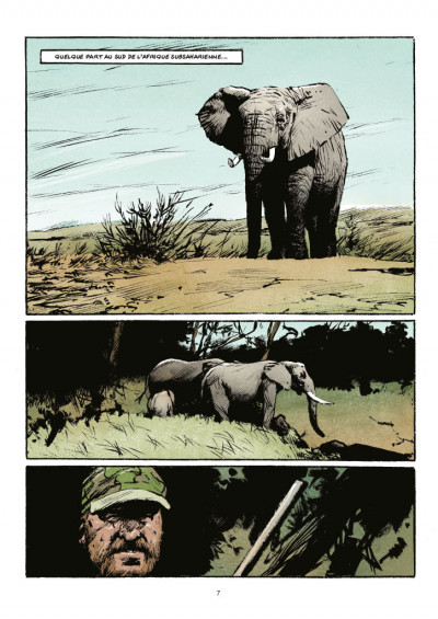 Page 1 Transperceneige - extinctions tome 1