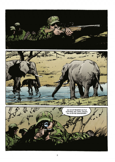 Page 2 Transperceneige - extinctions tome 1