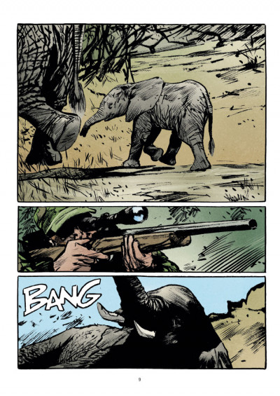 Page 3 Transperceneige - extinctions tome 1