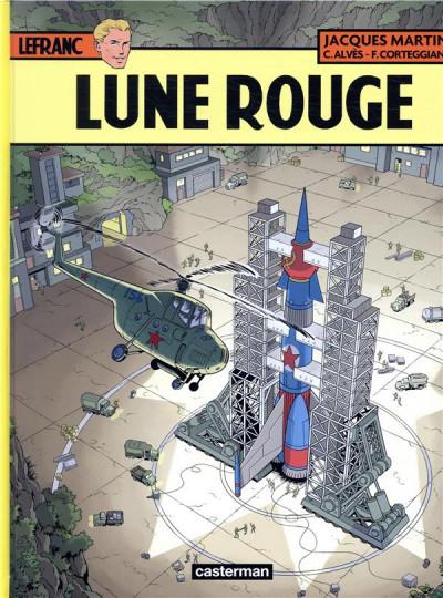 Couverture Lefranc tome 30 - Lune rouge + ex-libris offert