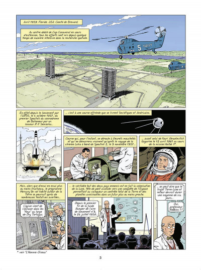 Page 4 Lefranc tome 30 - Lune rouge