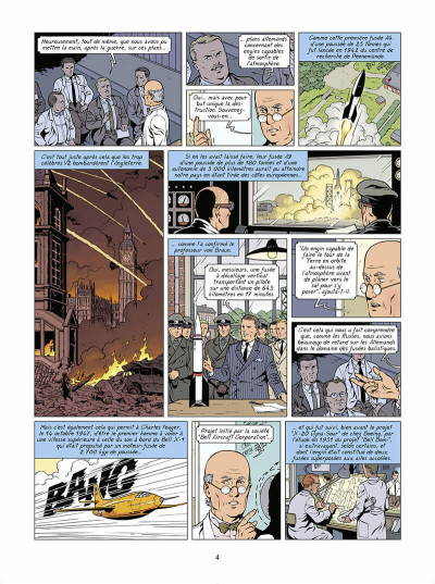 Page 5 Lefranc tome 30 - Lune rouge
