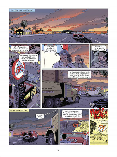 Page 8 Lefranc tome 30 - Lune rouge