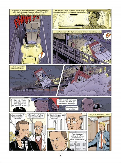 Page 9 Lefranc tome 30 - Lune rouge