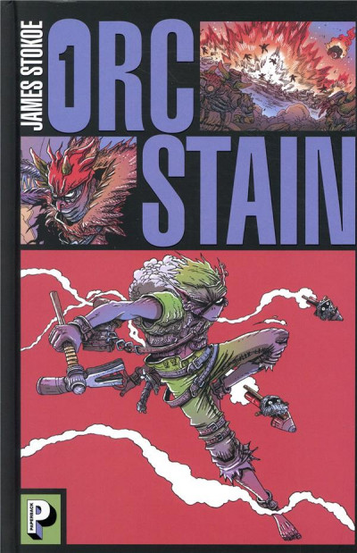 Couverture Orc stain tome 1