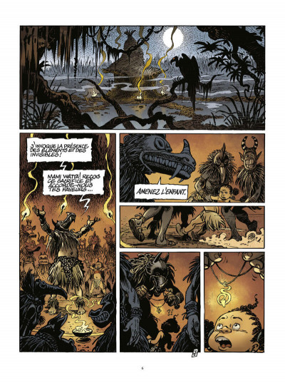 Page 7 Zibeline tome 1