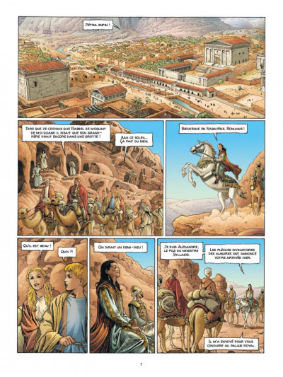 Page 5 Alix senator - édition deluxe tome 8