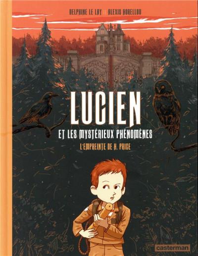 Couverture Lucien et les mystérieux phénomènes - L'empreinte de H. Price
