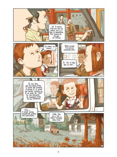 Page 3 Lucien et les mystérieux phénomènes - L'empreinte de H. Price