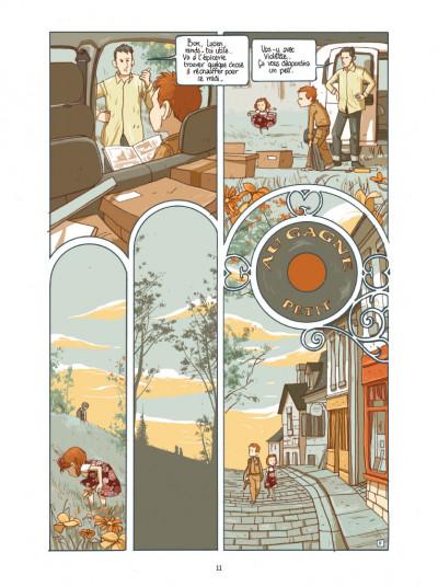 Page 5 Lucien et les mystérieux phénomènes - L'empreinte de H. Price