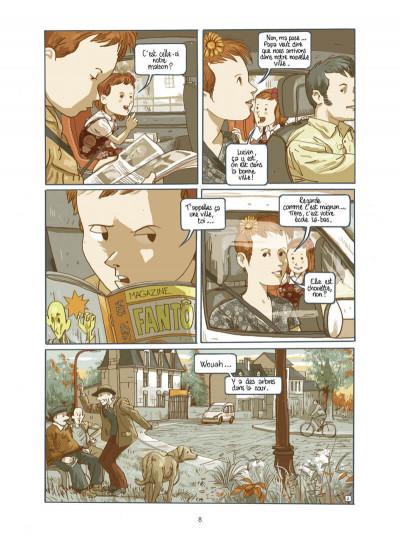 Page 9 Lucien et les mystérieux phénomènes - L'empreinte de H. Price