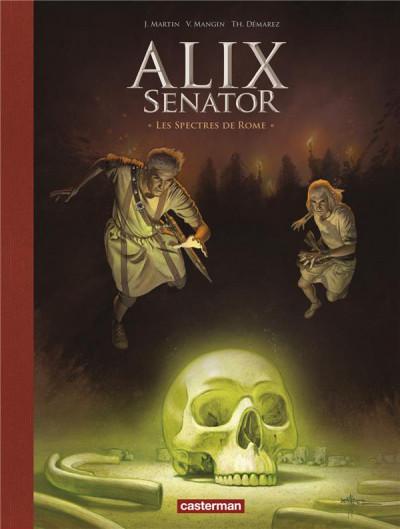 Couverture Alix Senator - édition deluxe tome 9