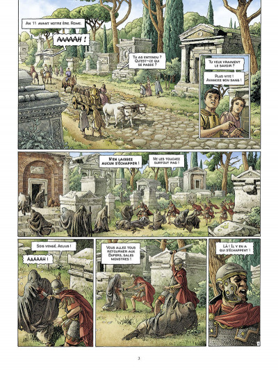 Page 4 Alix Senator - édition deluxe tome 9