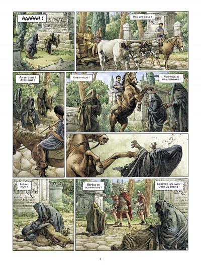 Page 5 Alix Senator - édition deluxe tome 9