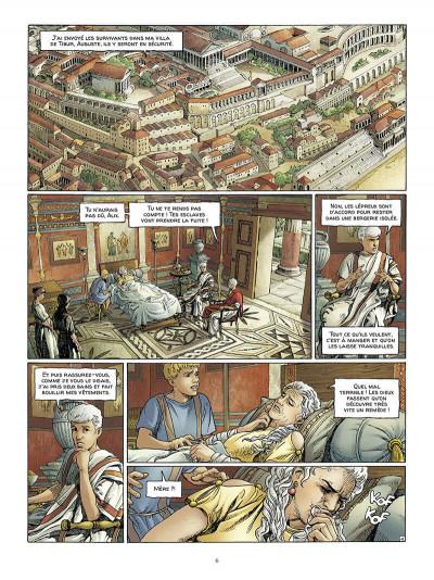 Page 7 Alix Senator - édition deluxe tome 9