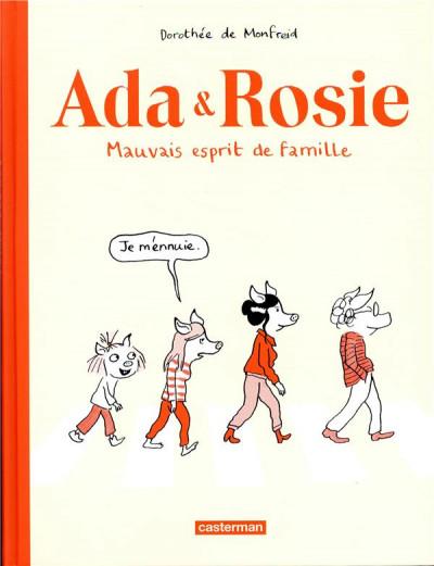 Couverture Ada & Rosie - Mauvais esprit de famille