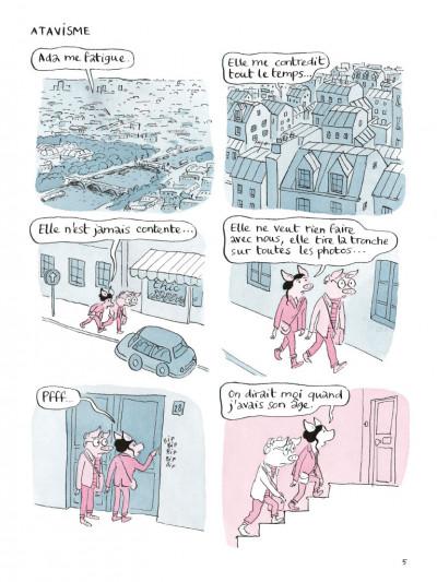 Page 1 Ada & Rosie - Mauvais esprit de famille