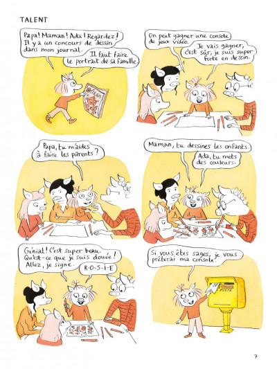 Page 3 Ada & Rosie - Mauvais esprit de famille