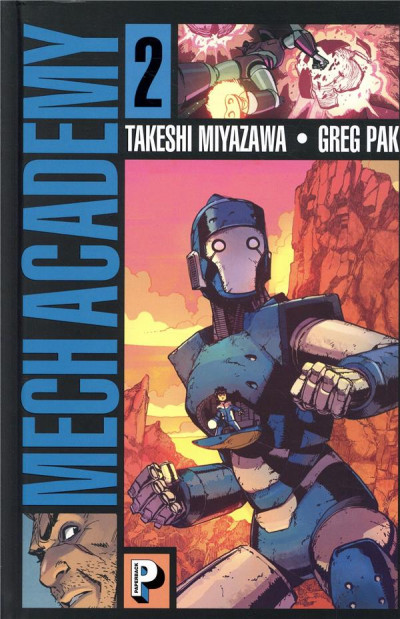 Couverture Mech academy tome 2
