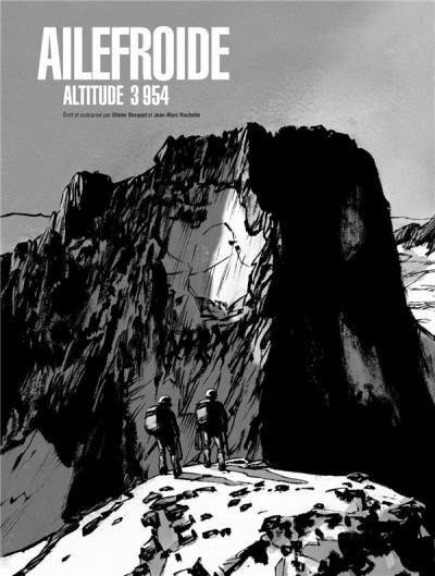 Couverture Ailefroide altitude 3954 - édition de luxe