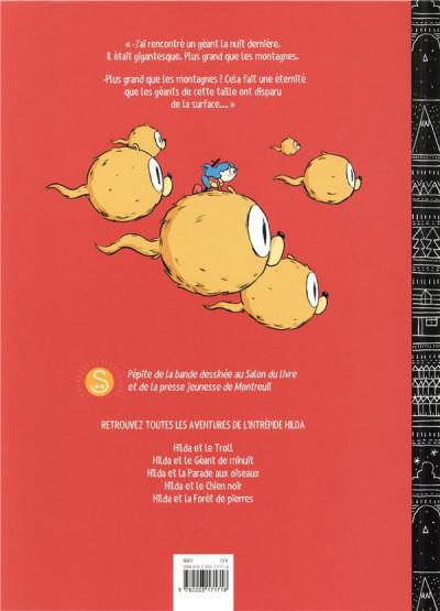 Dos Hilda - nouvelle édition tome 2 - Hilda et le géant de minuit