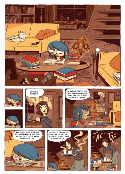 Page 1 Hilda - nouvelle édition tome 2 - Hilda et le géant de minuit