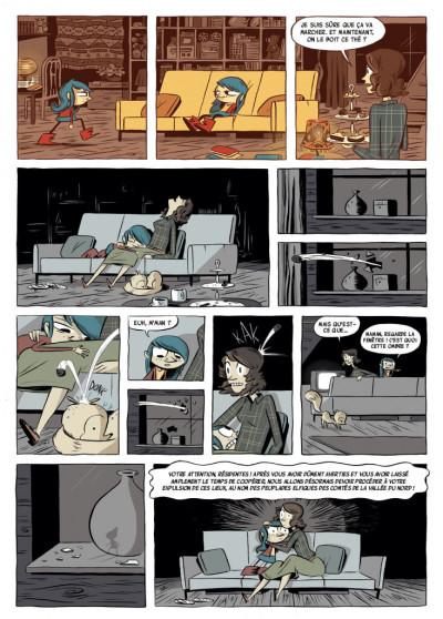 Page 3 Hilda - nouvelle édition tome 2 - Hilda et le géant de minuit