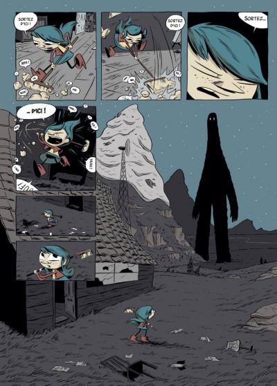 Page 5 Hilda - nouvelle édition tome 2 - Hilda et le géant de minuit