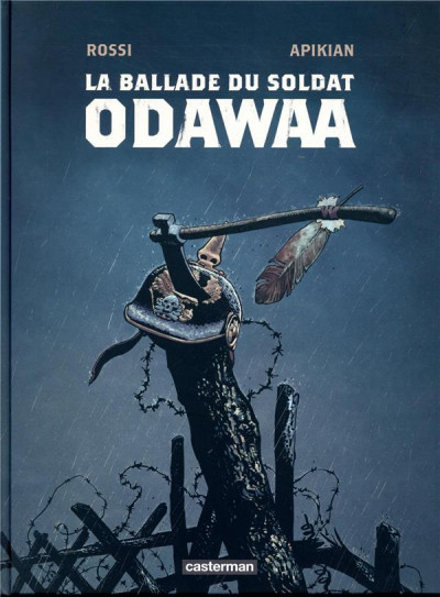 Couverture La ballade du soldat Odawaa