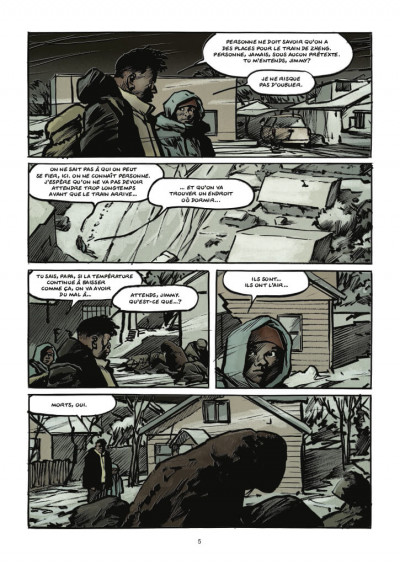 Page 3 Transperceneige - extinctions tome 2