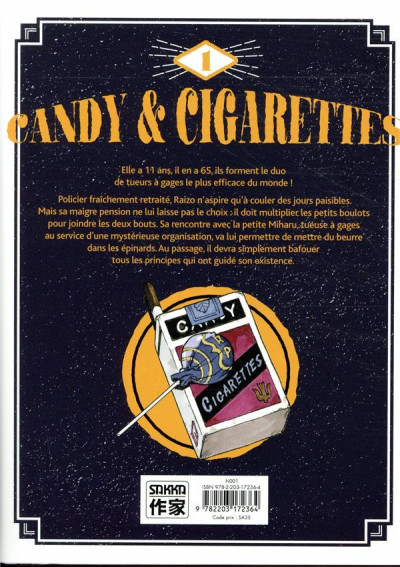 Dos Candy & cigarettes tome 1