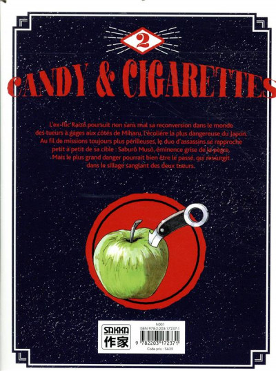 Dos Candy & cigarettes tome 2