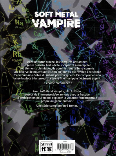 Dos Soft metal vampire tome 1